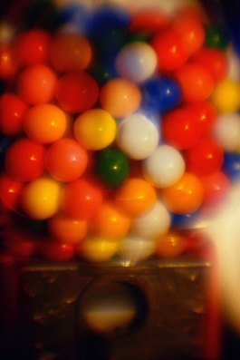 Magazine - Colourful gumballs