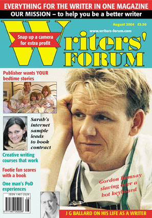 Cover - Writers Forum Aug 04